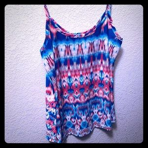 Maurices SM Multicolored Tank Top